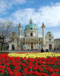 Vuelos Viena: Iglesia de San Carlos de Borromeo