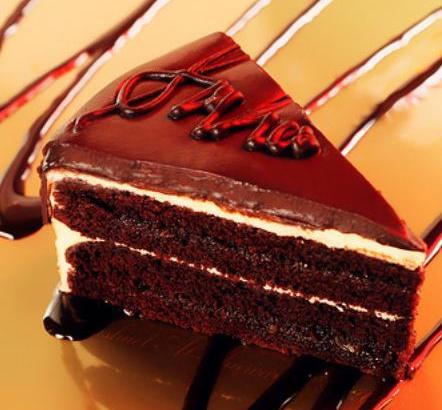 Gastronomía de Viena: tarta de chocolate Sachertorte